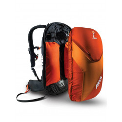 SAC A DOS ABS BASE UNIT CLASSIC + VARIO 8 L ORANGE