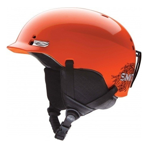 CASQUE SKI SMITH ENFANT GAGE JR NEON ORANGE STICKFORT
