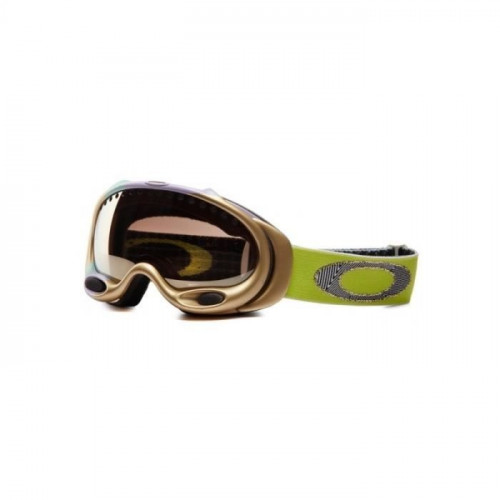 MASQUE DE SKI OAKLEY A FRAME JET BLACK FIRE IRIDIUM