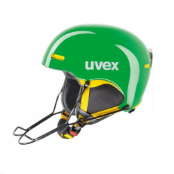 CASQUE DE SKI UVEX HLMT 5 RACE GREEN YELLOW
