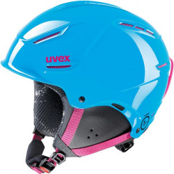 CASQUE ENFANT UVEX P1US JUNIOR CYAN PINK