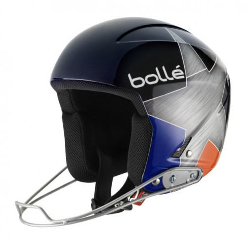 CASQUE DE SKI BOLLE B PODIUM BLUE & ORANGE STAR