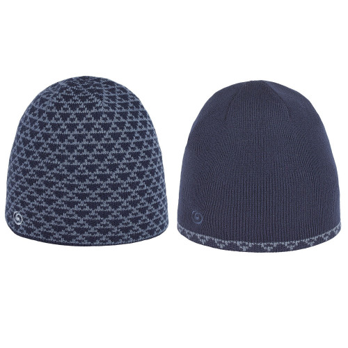 BONNET HOMME REVERSIBLE BREKKA GENTLEMAN BLUE NAVY