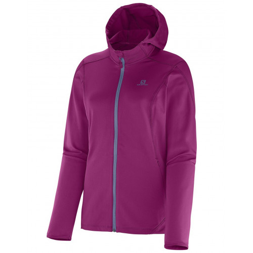 POLAIRE FEMME DISCOVERY HOODED SALOMON