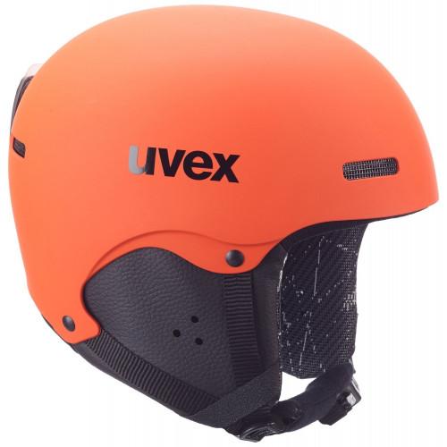 casque de ski enfant uvex hlmt 5 jr dark orange. Black Bedroom Furniture Sets. Home Design Ideas