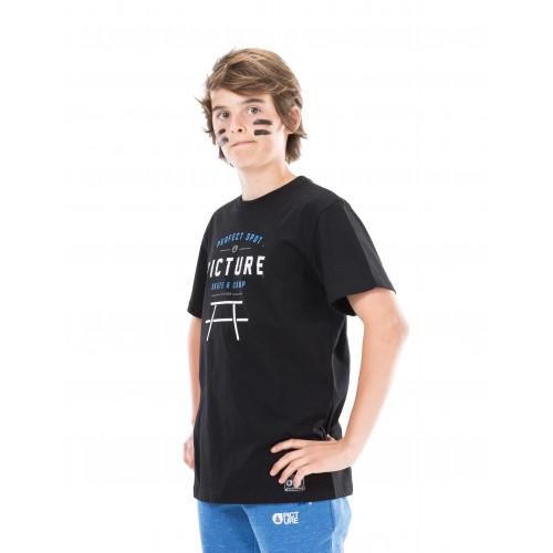 T-SHIRT PICTURE ORGANIC PROUD BLACK