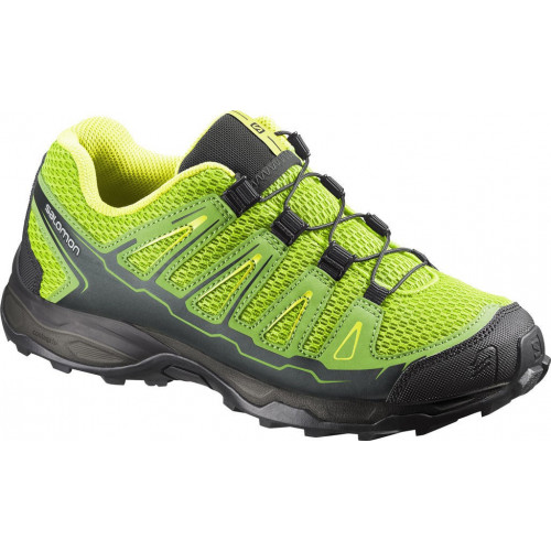 CHAUSSURES TRAIL JUNIOR SALOMON X-ULTRA GRANNY GREEN