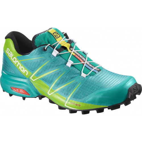 CHAUSSURES DE TRAIL FEMME SALOMON SPEEDCROSS PRO LOTUS BLUE