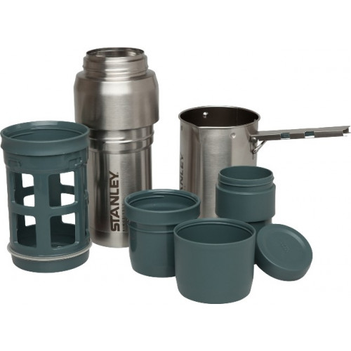 KIT CAFETIERE A PISTON 1L STANLEY ACIER