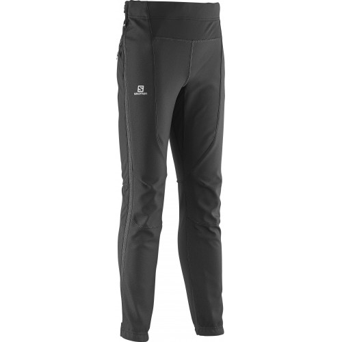 PANTALON SOFSHELL SALOMON MOMEMTUM FZ JR BLACK