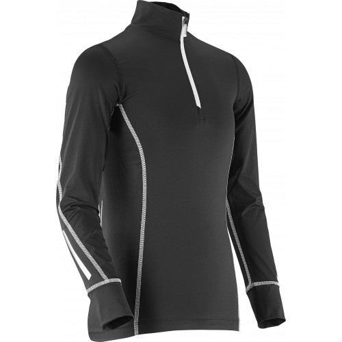 MAILLOT SALOMON RACE JERSEY JR BLACK