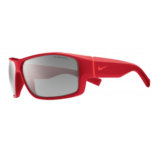 LUNETTES DE SOLEIL ENFANT NIKE REVERSE GYM RED GREY SILVER FLASH