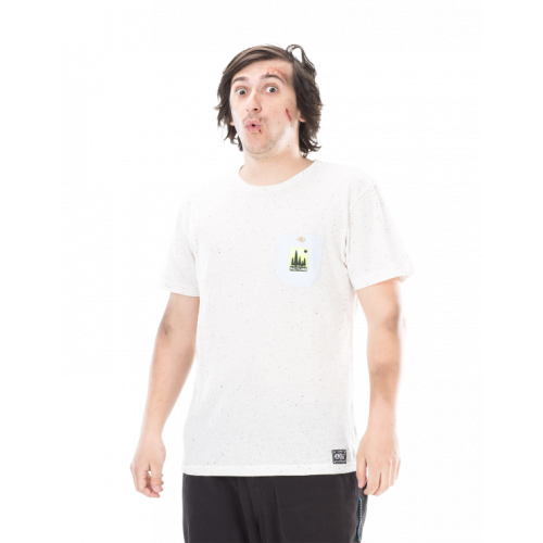 T-SHIRT PICTURE ORGANIC ABBOT NATURAL WHITE