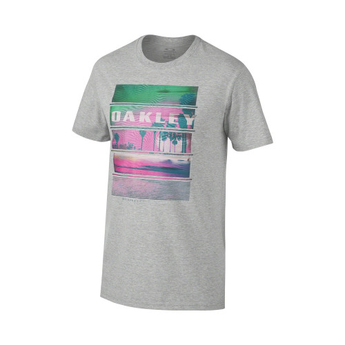T-SHIRT OAKLEY PACIFIC TEE HEATHER GREY