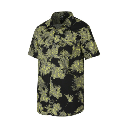 CHEMISE OAKLEY PRINT WOVEN BRIGHT LIME