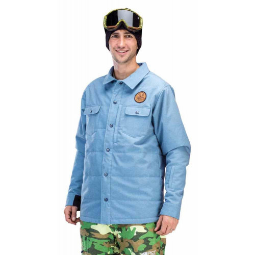 VESTE DE SKI PICTURE ORGANIC RIDINGO SHIRT DENIM