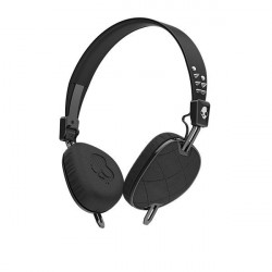 CASQUE AUDIO SKULLCANDY KNOCKOUT ON-EAR W/MIC 3 QUILTED BLACK BLACK GOLD
