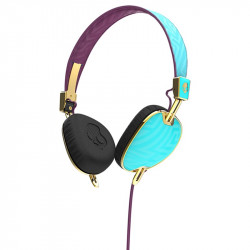CASQUE AUDIO SKULLCANDY KNOCKOUT ON-EAR W/MIC 3 TIFFANNY SMOKED PRP