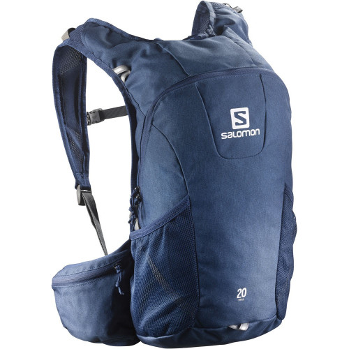 SAC A DOS SALOMON TRAIL 20 MIDNIGHT BLUE CHINE BL