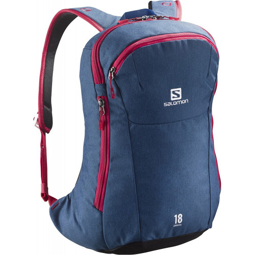 SAC A DOS SALOMON ORIGINS 18 MIDNIGHT BLUE BLACK LOTUS PINK