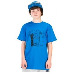 T-SHIRT PICTURE ORGANIC MINI DADY BLUE