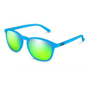 Soleil Fluo Lunettes Neon Green De T Cyan Vintage Mirror FTK15ucJ3l