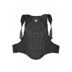 PROTECTION DORSALE FEMME DAINESE BACK PROTECTOR SOFT FLEX BLACK FUSCHIA
