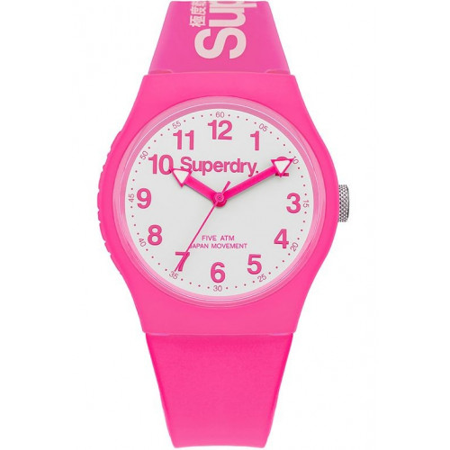 MONTRE SUPERDRY URBAN ROSE BLANC