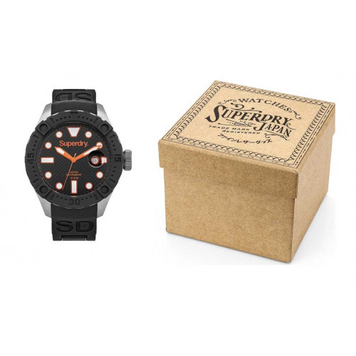 MONTRE SUPERDRY DEEP SEA SCUBA NOIR