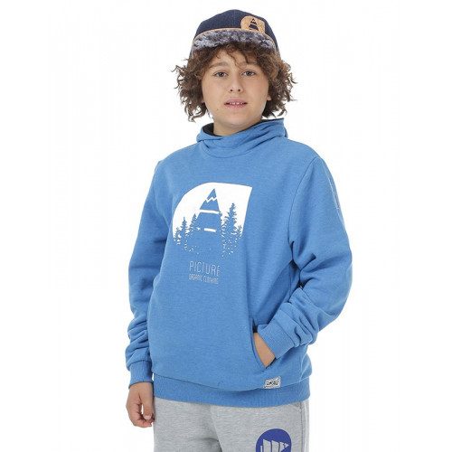 SWEAT PICTURE ORGANIC WILD KIDS BLUE