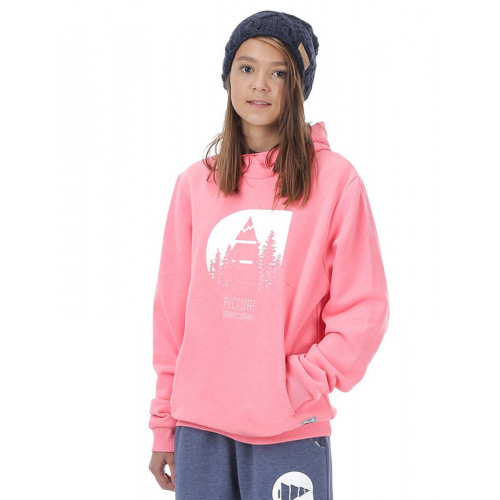 SWEAT PICTURE ORGANIC WILD KIDS PINK
