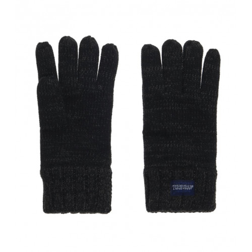 GANTS SUPERDRY SUPER CABLE GLOVES CHARCOAL TWIST