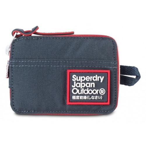 PORTEFEUILLE SUPERDRY TRINITY WALLET NAVY