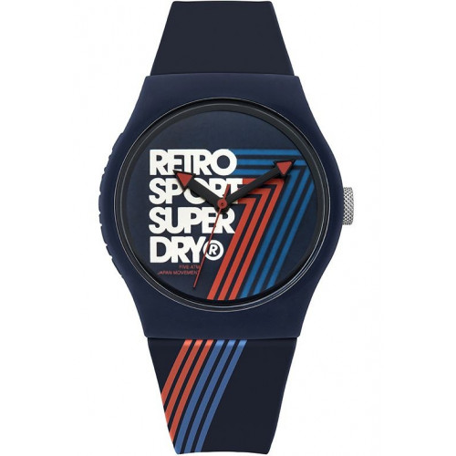 MONTRE SUPERDRY URBAN RETRO SPORT BLEU