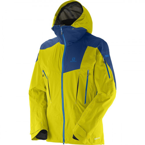 veste de ski salomon jacket soulquest 3l yellow ebay. Black Bedroom Furniture Sets. Home Design Ideas