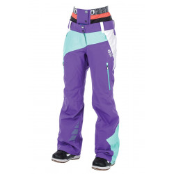 PANTALON DE SKI PICTURE ORGANIC SEEN PURPLE WHITE