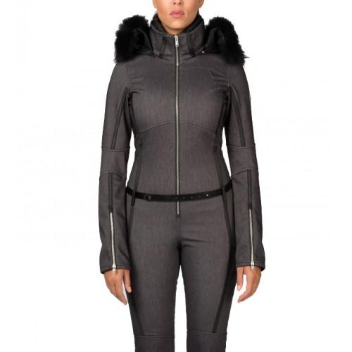 combinaison de ski spyder eternity suit black ebay. Black Bedroom Furniture Sets. Home Design Ideas