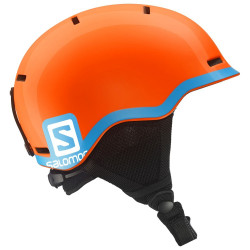CASQUE DE SKI KID SALOMON GROM FLUO ORANGE / BLUE