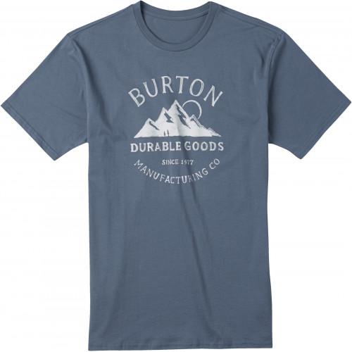T-SHIRT BURTON MB OVERLOOK SLIM SS BLUE MIRAGE