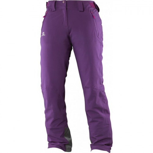PANTALON DE SKI SALOMON ICEGLORY COSMIC PURPLE