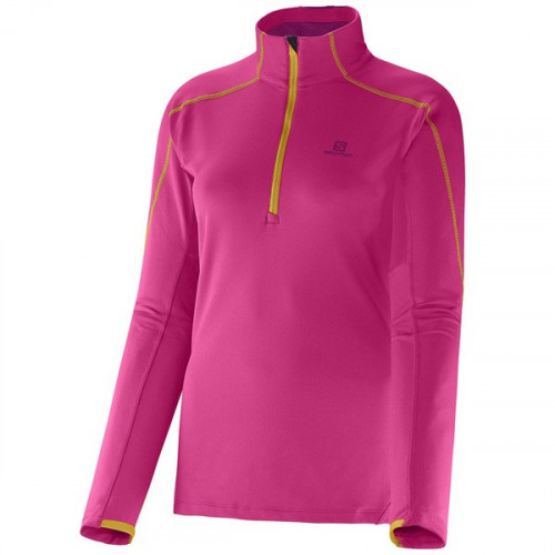 POLAIRE SALOMON DISCOVERY HZ MIDLAYER PINK