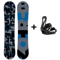 PACK SNOWBOARD HOMME BURTON CLASH + FIX FREESTYLE