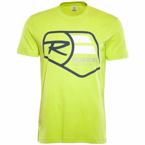T-SHIRT ROSSIGNOL TEE PUNCH LIME