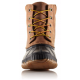 BOTTE SOREL CHEYANNE LACE FULL GRAIN CHIPMUNK BLK
