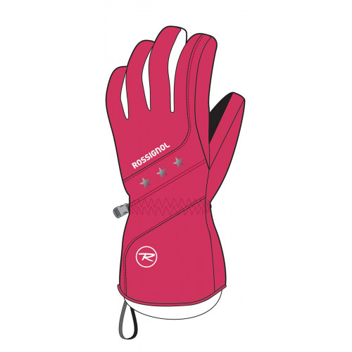 GANTS DE SKI ROSSIGNOL JUNIOR GYNA VERY PINK