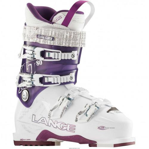 Chaussure De Ski Femme Lange Xt 80 White / Purple