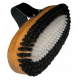 Brosse Vola Racing Ovale Racing Nylon/Crin Blanche