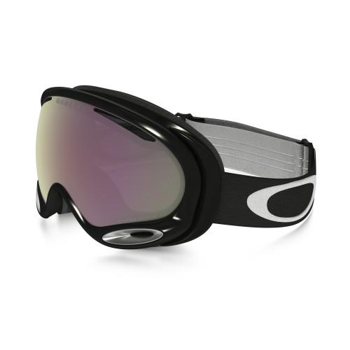 Masque de Ski Oakley A Frame 2.0 Jet Black Hi Pink Iridium