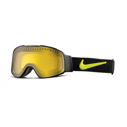 Masque de Ski Nike Fade Black Cyber Transitions Yellow
