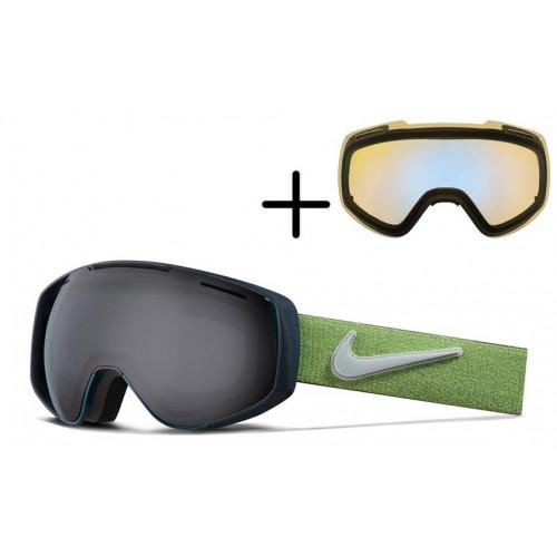 Masque de Ski Nike Khyber 795 Midnight Yurquoise Wolf Grey